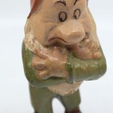 Grumpy Seiberling Rubber Figurine - ID: novdisneyana20025 Disneyana