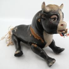Ferdinand the Bull 1930s Wood Toy - ID: novdisneyana20043 Disneyana
