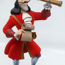 Captain Hook Limited Edition Disney Store Statuette - ID: novdisneyana20063 Disneyana