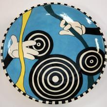 Mickey Mouse Icon Ceramic Plate - ID: novdisneyana20070 Disneyana