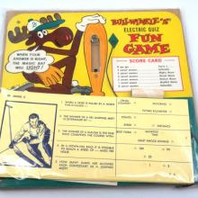 1960s Bullwinkle Electric Quiz Buzzer Game - ID: septbullwinkle20342 Jay Ward