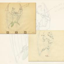 Fantasia Production Drawing  - ID: septfantasia20284 Walt Disney