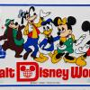 Walt Disney World Vanity License Plate - ID: augdisneyana20163 Disneyana