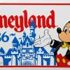 Disneyland 1986 Novelty License Plate - ID: augdisneyana20167 Disneyana