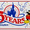 Walt Disney World 15 Years Novelty License Plate - ID: augdisneyana20183 Disneyana